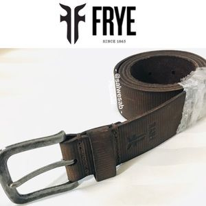 Authentic NWT Frye Leather Belt
